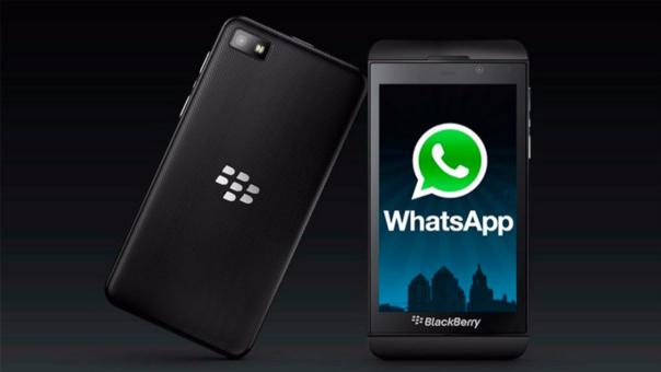 El sistema operativo BlackBerry dejará de ser soportado por WhatsApp.