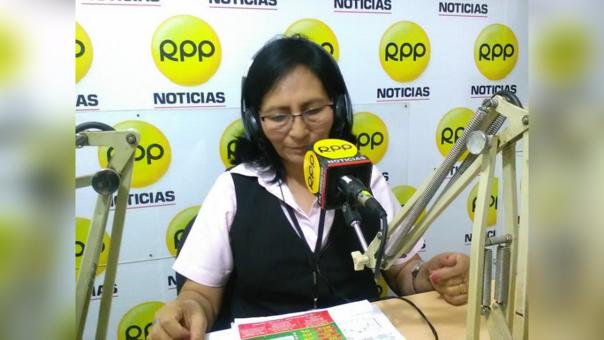 La gerente general de SATT, Nelly Salvatierra