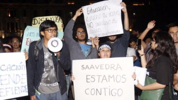 La marcha empezará desde las 6 de la tarde del lunes en  la Plaza San Martín.