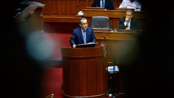 Jaime Saavedra respondió a 18 preguntas durante el pliego interpelatorio.