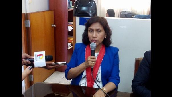 Fiscal superior Cecilia Zavaleta
