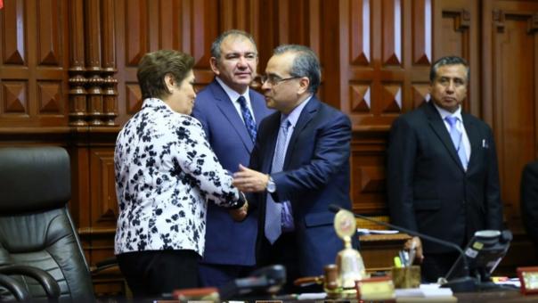 Jaime Saavedra se presentó el miércoles en el Congreso para el pliego interpelatorio.