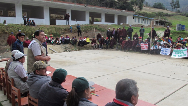 Reunión en Tototas Pampaverde