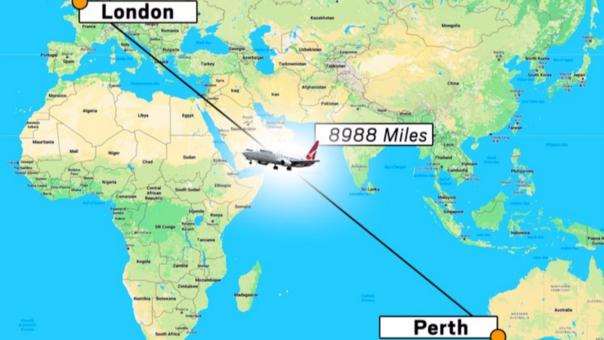 El vuelo será en un Boening 787-9 Dreamliner.