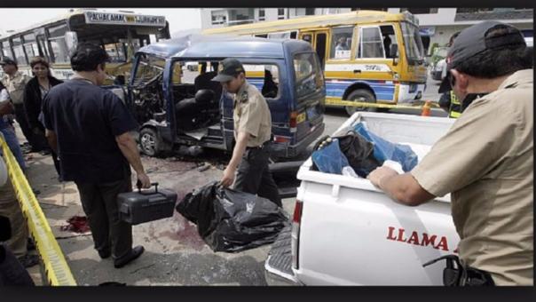 Accidentes de tránsito ¿ mal de nunca acabar?
