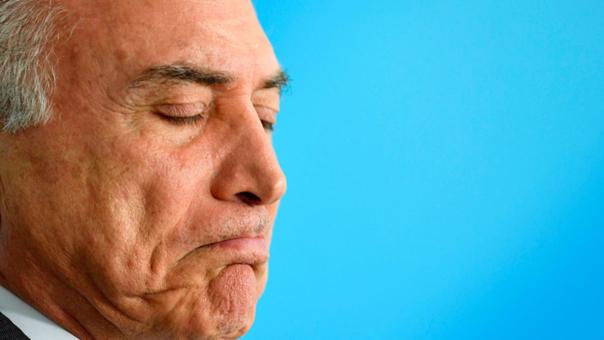 El presidente de Brasil afronta graves acusaciones.