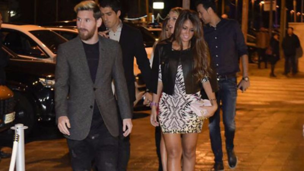 Todo el Barcelona estaría invitado al matrimonio de Lionel Messi.