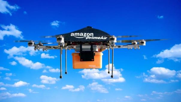 Amazon realiza primera entrega a través de un dron
