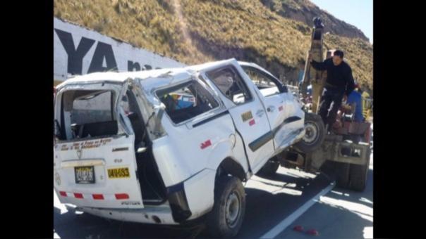 Accidente vehicular ocurrió cerca de las 5:15 de la mañana.
