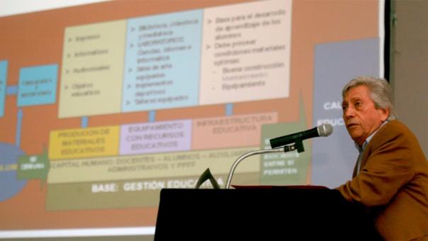 El arquitecto Javier Sota Nadal fue el último ministro de Educación de Alejandro Toledo.