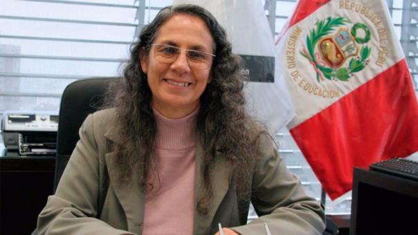 Patricia Salas fue la ministra de Educación al inicio del gobierno de Ollanta Humala.