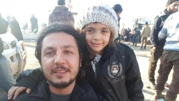 La niña siria de siete años visitó el Complejo Presidencial
