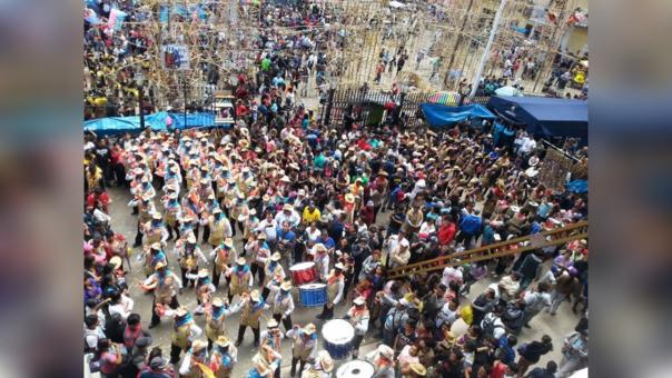 Festividad en honor a la Virgen de la Puerta en Otuzco