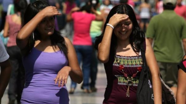 El calor en Lima puede llegar hasta los 36° centígrados en febrero.