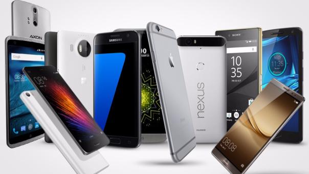 Ránking smartphones gama alta