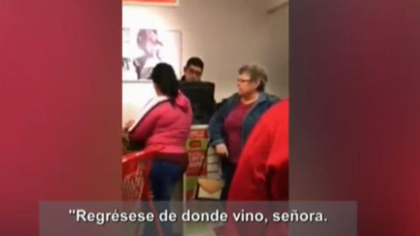Video de mujer gritando insultos a hispanas indigna en las redes sociales