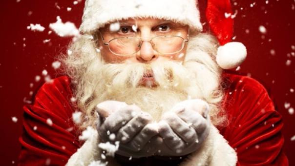 La tradición de Papa Noel es de origen europeo.