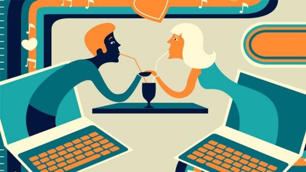 Buscar pareja por Internet es cada vez más común.