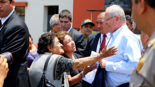 Presidente Kuczynski visitó en el Hospital Central de la Policía a los efectivos heridos en el accidente ocurrido en la localidad de Antabamba (Apurímac)