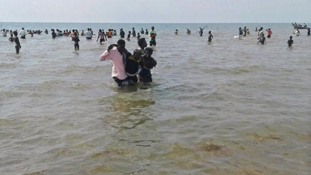 Muertos y desaparecidos deja accidente en el mar — Tragedia en Uganda