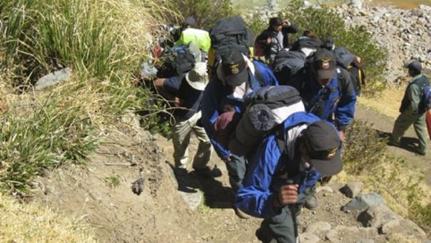 Dos mineros desaparecidos
