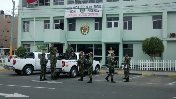Policía de Chimbote