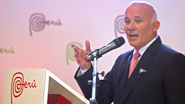 Eduardo Ferreyros dijo que paraalcanzar la meta se debe trabajar también en infraestructura.