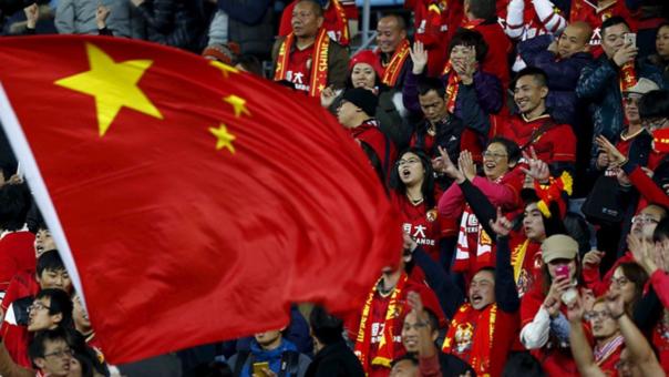 China critica gasto irracional en fichaje de sus clubes de fútbol