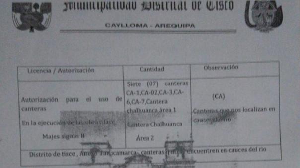 Licencia Majes