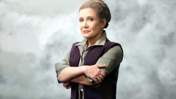 Carrie Fisher saltó a la fama con su papel de Leia Organa, en el Universo Star Wars.