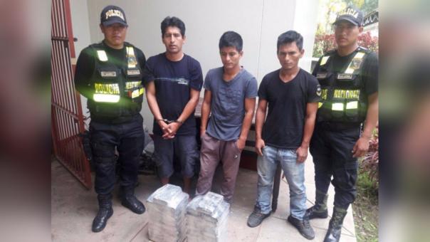 Detenidos por tráfico de drogas