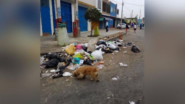 Calles con basura