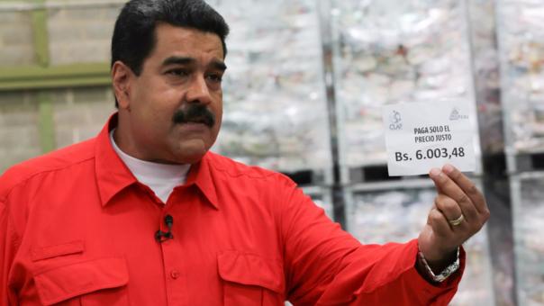 Nicolás Maduro anunció en su programa el aumento del sueldo básico.