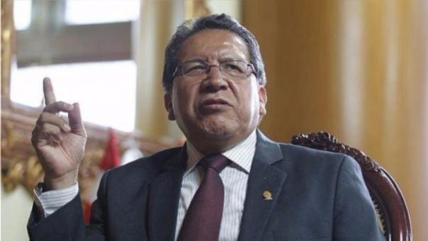 Fiscal Pablo Sánchez Velarde.