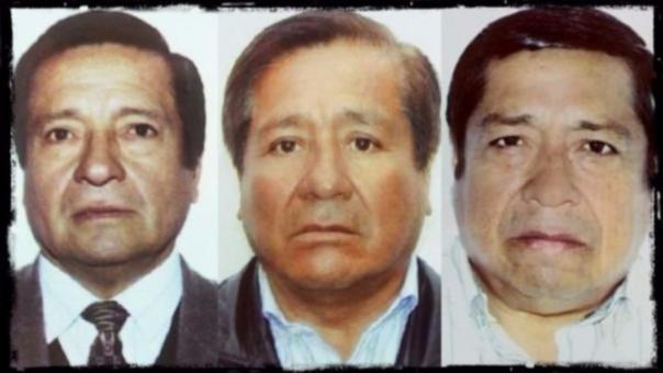 De izquierda a derecha: Santos, Segundo y Fortunato Sánchez Paredes. La fase oral del juicio contra ellos empieza este miércoles.