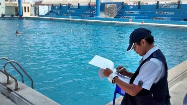 Inspección de piscinas