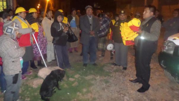 Pobladores piden a vecinos que se aúnen a patrullaje mixto.
