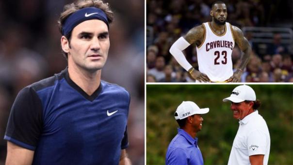 Roger Federer sigue siendo una imagen muy atractiva para las empresas.