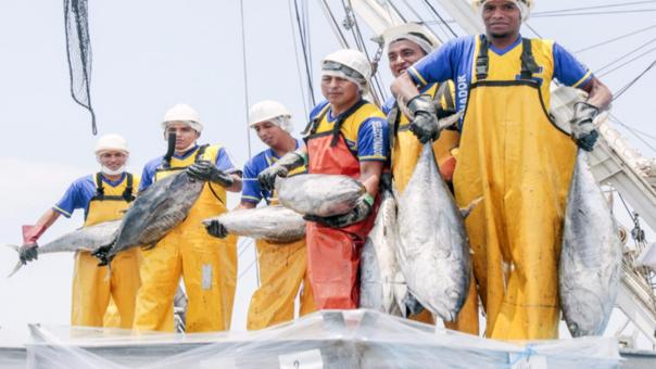 El sector pesquero contribuirá con el crecimiento del país, entre otros temas, por la mayor captura del recurso atún.