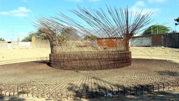 Piura: Contraloría inspecciona obra de saneamiento abandonada en La Arena