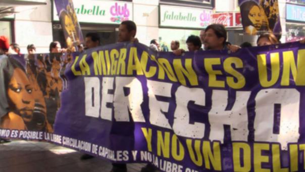 Peruanos se movilizarán para pedir mejores políticas migratorias en Chile.