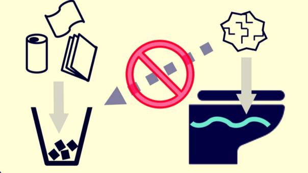 Es recomendable no botarlo al basurero, pero si el sistema de desagüe no está optimizado puede generar problemas.