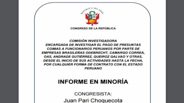 Informe LavaJato