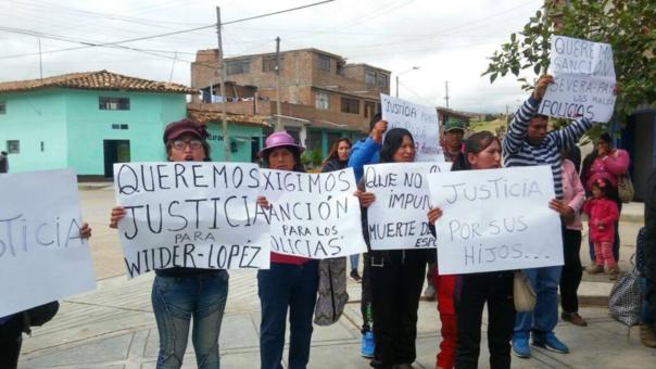 Protesta Jauja