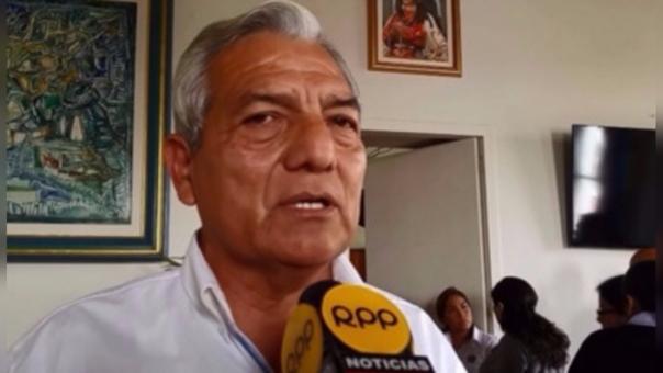 El alcalde de Trujillo, Elidio Espinoza