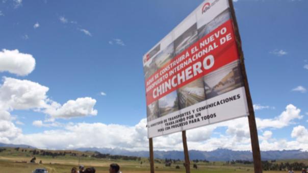 La construcción del aeropuerto de Chinchero está aún en suspenso.