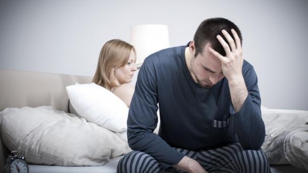 disfunción eréctil y problemas de orina