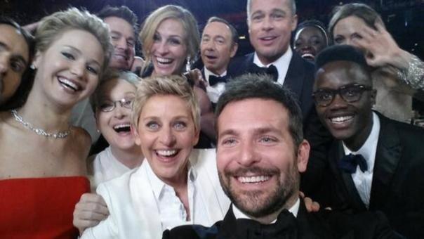 Ellen DeGeneres batió records en las redes sociales.
