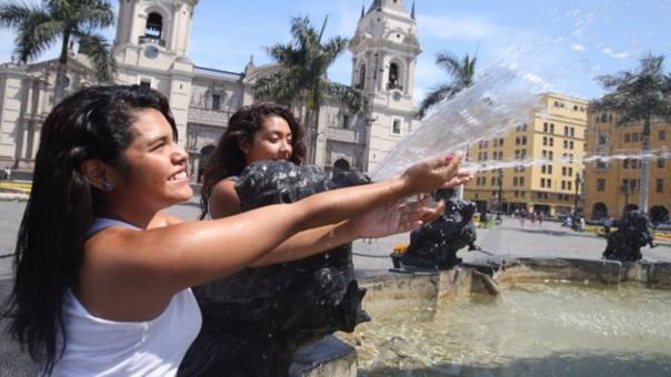 Desde 1998 no se registraba una temperatura tan alta en Lima. La de ese año fue de 25 grados en enero.
