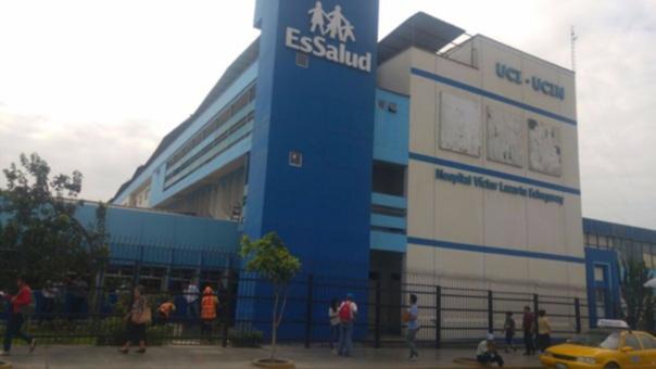 El pequeño será trasladado del Hospital Victor Lazarte de Trujillo al hospital Almenara de Lima.